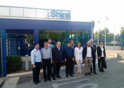 visita del V.GOVERNATORE DI HAINAN WANG LU A SHIRE